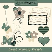 Sweet Memory clipart by BuburuResources