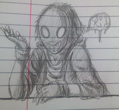 History class doodle by Juliet-V
