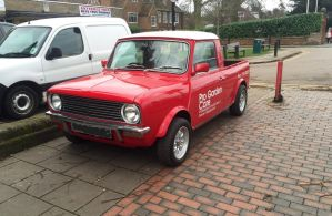 Mini pickup front by Car-lover33