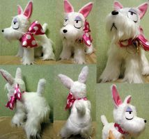 Mephisto Pheles dog plush by Rens-twin