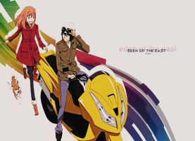 Eden of the East by a-lm-n