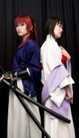 Kenshin and Tomoe by Yume-ka