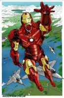 Revised Internship Work: Iron Man by Punch-line-designs