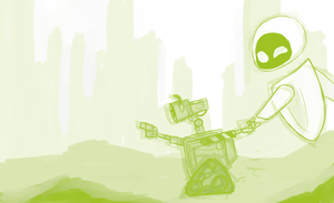 WALL-E: Adventure is out there by schellibie
