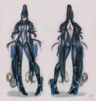 Bayonetta 2 Concept Art by pandatails