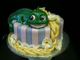 Tangled Cake by Spudnuts