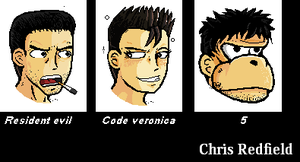 Chris redfield evolution by DZJproduction