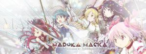 Madoka Magica Facebook Timeline Cover by foundcanvas14