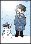 Chibi Hitler in the snow by mgs-fan