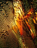 Queen Bee With Hives by Vorpalcom
