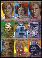 STAR WARS 30 Sketch Cards by MATTBUSCH