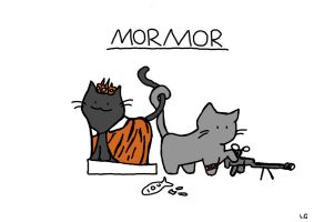 Cat!lock mormor by unicornchick