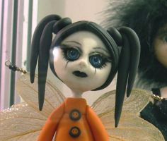 A goth fairy close by dollsbyelectra