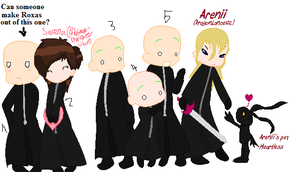 Organization XIII chibi collab by PokemonBWishesCilan