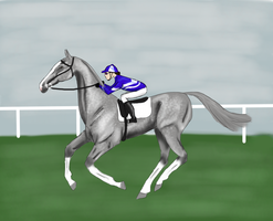 Astrid's first race by silvershore