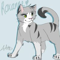 Roxanne ref sheet by lucario626626