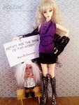 I support BJD artists! #proBJDartists by musumedesu