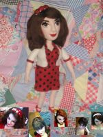 Needle Felted Custom Doll by CatsFeltLings