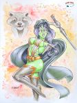Guardians in Copics by RichardHuante