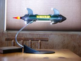 Rocket Desk Lamp by PrototypeDept
