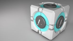 3D Companion Cube by cesterical
