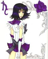 Sailor Saturn by SoundNinjaKin
