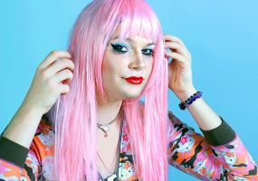 Homely Pop Pink 2 by FatHobbit