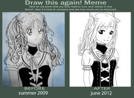 Meme: Before and After by Anary