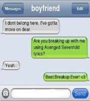 Best Breakup Ever by HymnOfShadows