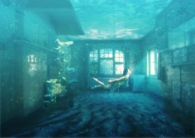 Underwater Room by kallestar23