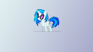 Vinyl Scratch Wallpaper -1920x1080- by gandodepth