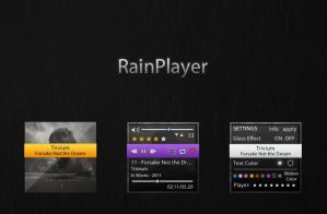 RainPlayer by lucamennoia