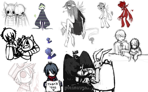 Dyssomnia Sketchdump - 1 by tickets