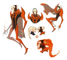 GLTAS: Red Lantern Walker by dou-hong