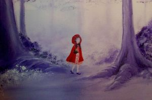 Little Red Riding Hood -detail by PurpurNena