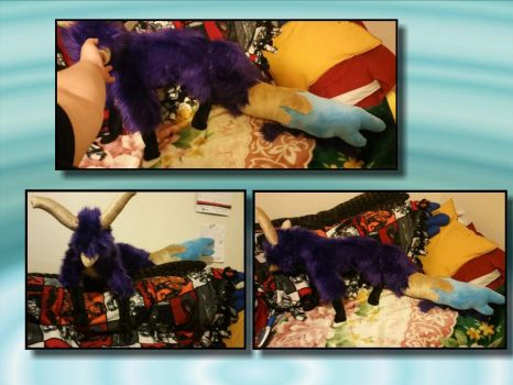 Cuervo the Synaxid Plushie! by lupalover101