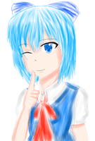 Touhou: Cirno 1 by Nordic-Girl23