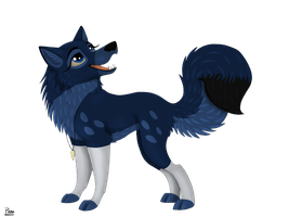 Wolf Commission for SapphireSquire by Elana-Louise