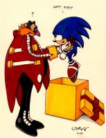 Eggman and Sonic: Happy B-Day by RAWN89