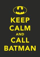 CALL BATMAN by tind