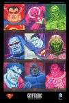 'Superman: The Legend' sketch cards 01 by DeJarnette