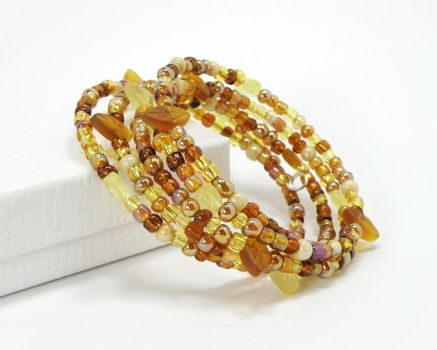 Autumn Colors Bracelet by Cillana