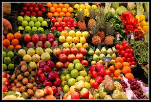 Market in Barceloma by nutnic