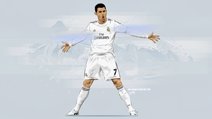 Cr7 Vector Wall by midosamir89