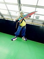 crossing blades again sora by Lightninglouise