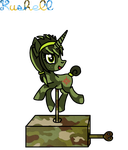 Created YCH Number 9 (Music Box Pony A) - (Pixel) by Kushell