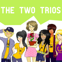 rule63: two trios by polarberrys