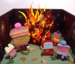 Bonfire Night Diorama by philippajudith