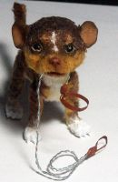 Chihuahua poseable sculpture by aleahklay