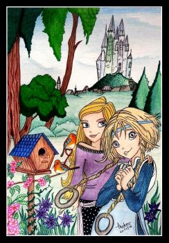 Elyon and Cornelia (Contest) by Thahaseen